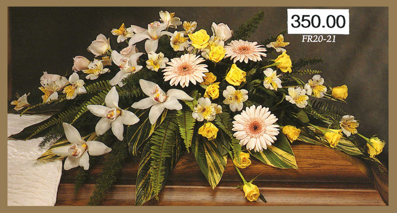 Sympathy Floral Collection FF 8 | $350Casket Spray